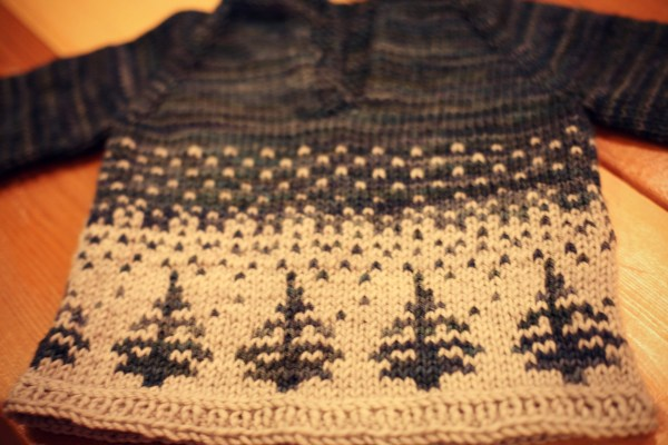 Anders Sweater Colourwork