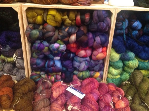 Fibre, yarn, and more fibre!