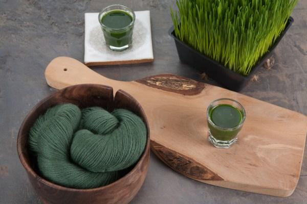 YOTH's Fresh Palette colourway: Wheatgrass