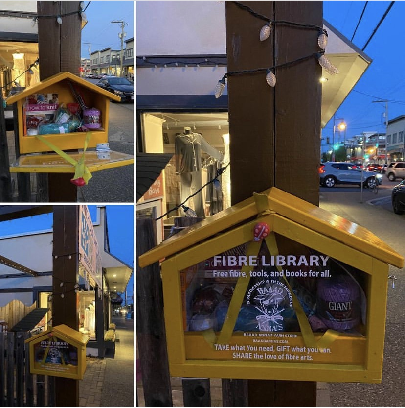 Give Back Sunday Fibre Library UPDATE
