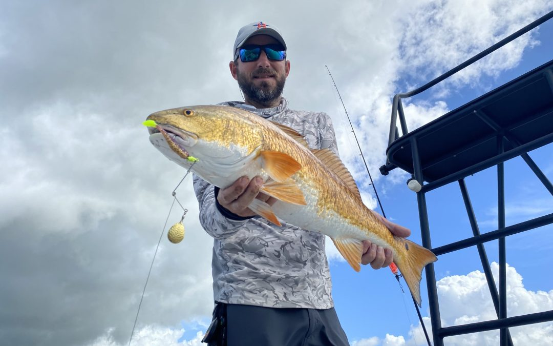 Captain Caleb TV – Redfish on Spinnerbaits