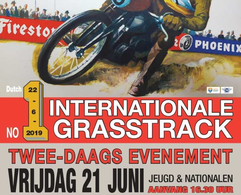 Poster International Grasstrack 2019