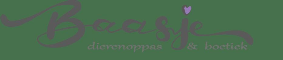 BAASJE - WEBSHOP - DIERENOPPAS - LOGO
