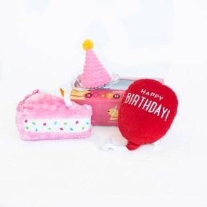 BAASJE - DIERENOPPAS - DIERENBOETIEK - BIRTHDAY BOX PINK