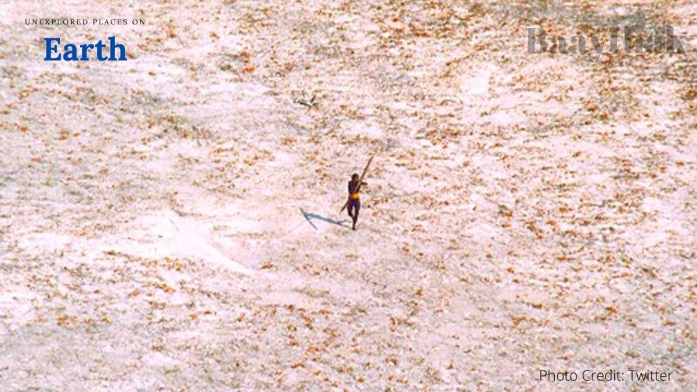 Unexplored Places on Earth - A man attacking the photographer in North Sentinel Island, India - Baaythak