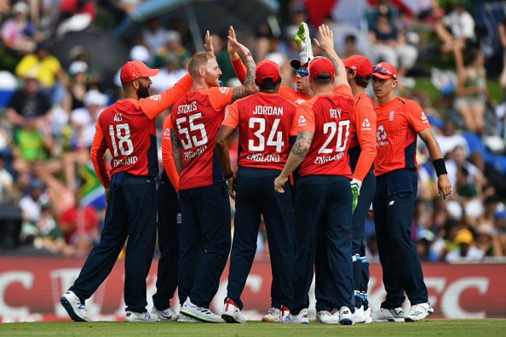 England T20I squad for India series