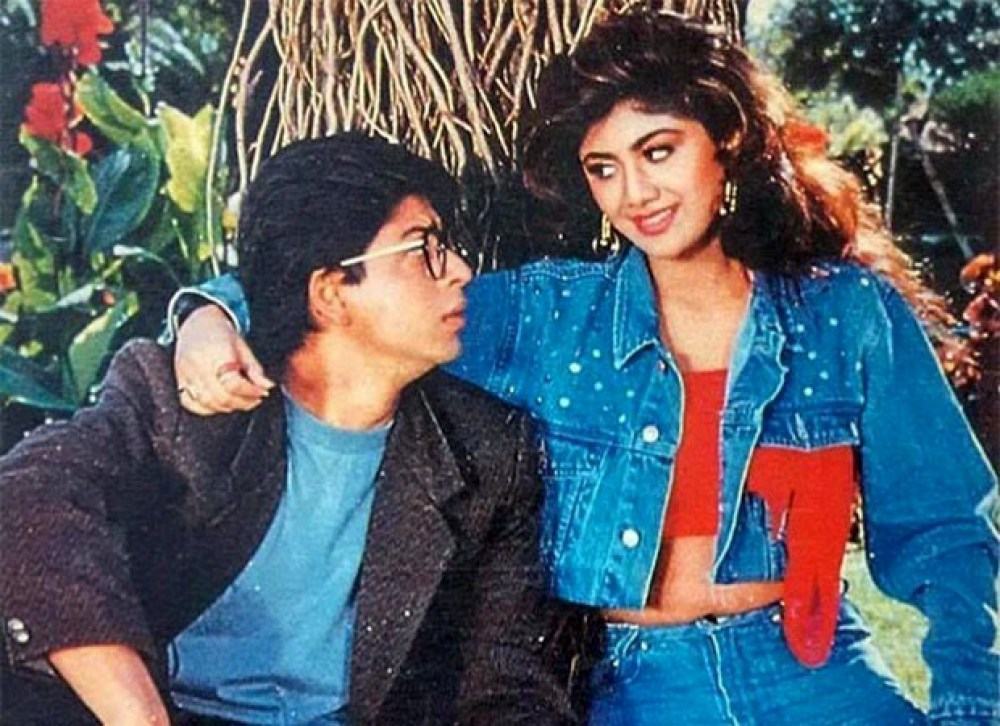 Shilpa Shetty and Shah Rukh Khan