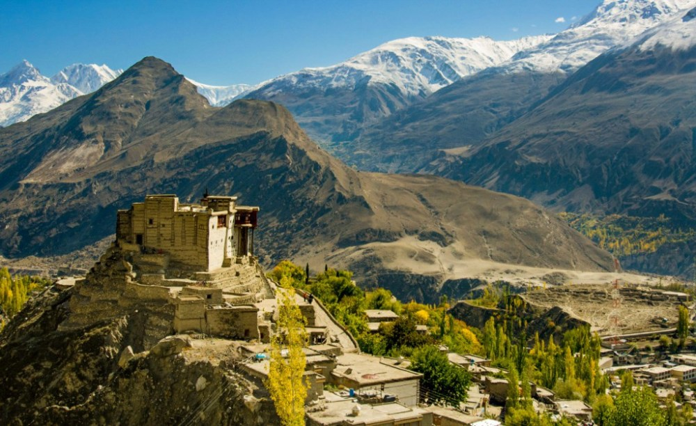 A stunning view of Baltit Fort