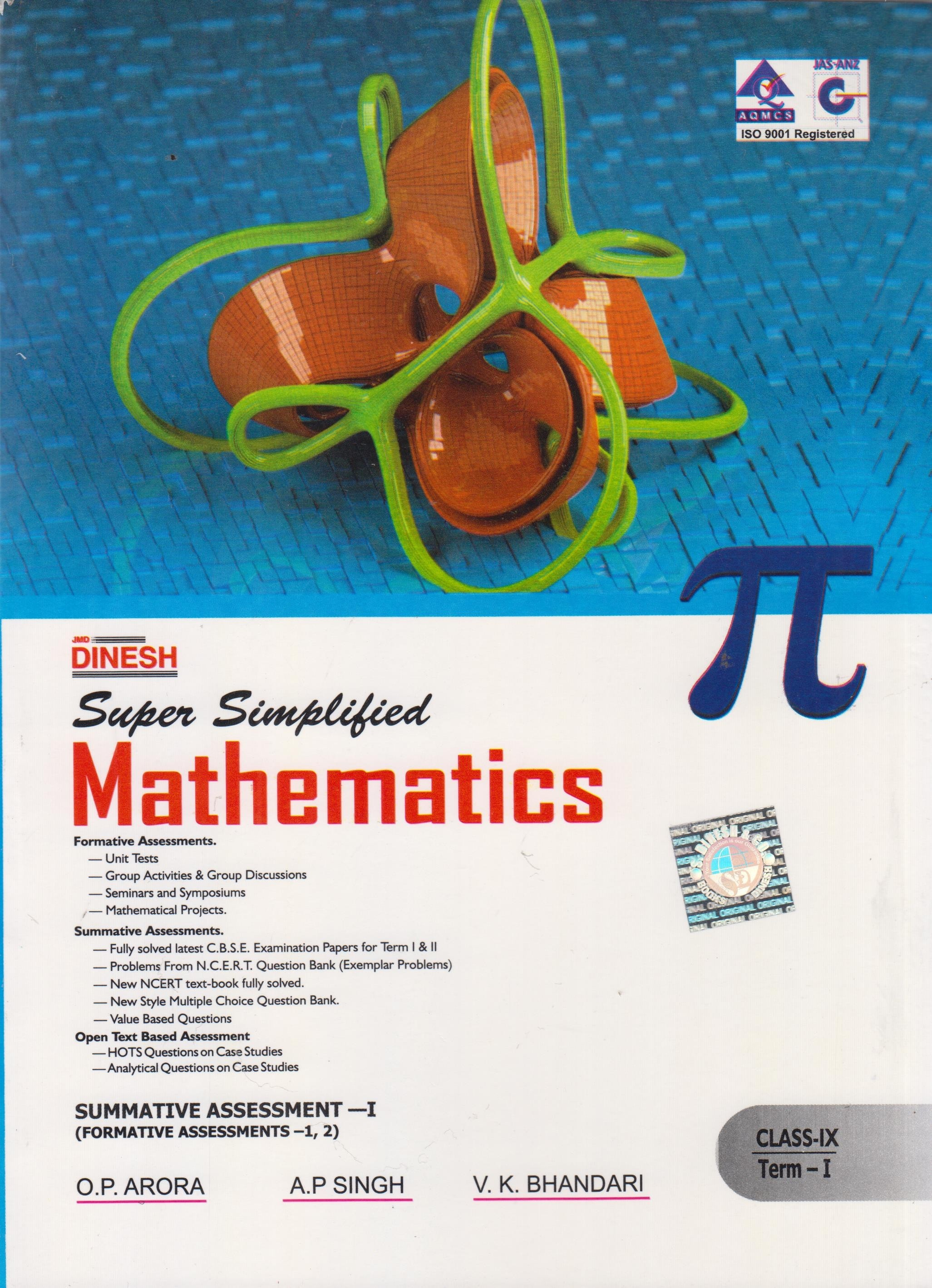 Mathematics For Class 9 Cbse