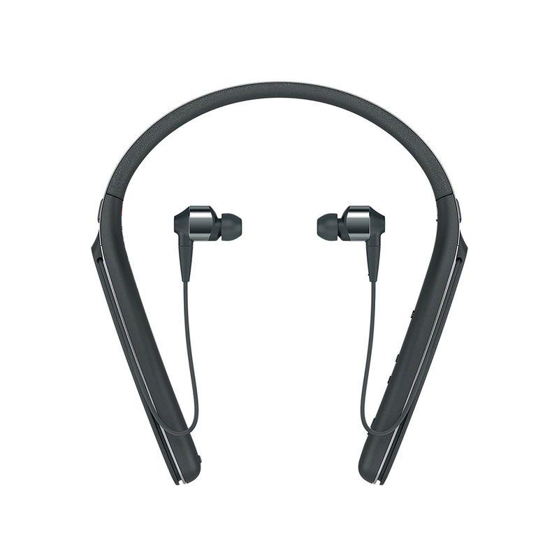 سوني Wi1000x B سماعات رأس مانعة للضوضاء لاسلكية خلف الاذن أسود
