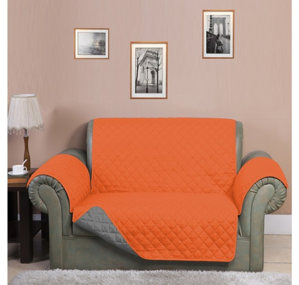 Orange Sofa Cover
