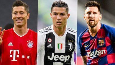 Photo of Best FIFA Men's Player of the Year: Finalists Cristiano Ronaldo, Lionel Messi and Robert Lewandowski