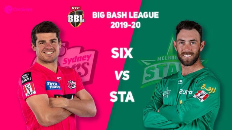 SIX vs STA Match 15: Fantasy Cricket Tips, Playing XI, Pitch Report