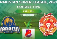 Photo of KAR vs ISL Dream11 Team Prediction & Team News