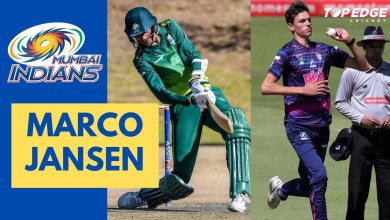 Photo of Marco Jansen bought by Mumbai Indians for IPL 2021 auction