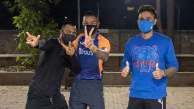 Photo of Hardik, Krunal, and SKY arrive in Mumbai Indians bio-bubble