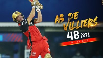 Photo of It was a challenge to defeat Mumbai Indians- said AB de Villiers