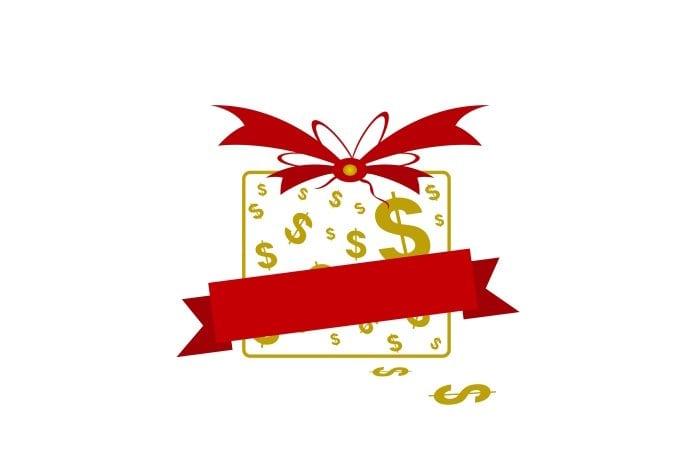 pénz ajándékba