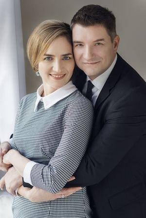 Madarász Isti filmrendező és felesége, Kerekes Monika.