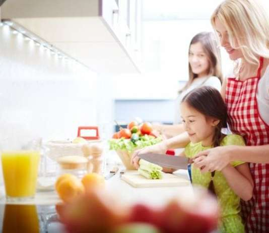 főzni gyerekkel