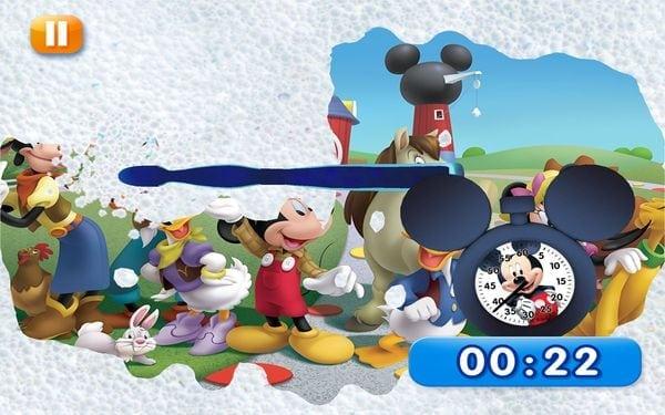 Mágikus Disney Fogmosó időmérő alkalmazás