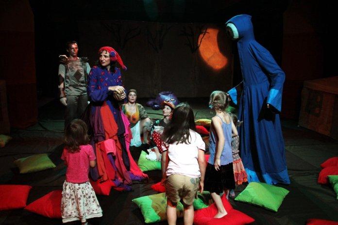 színház gyerekeknek, családi program budapest, kisgyerekes program budapest, tünet együttes, meseszínház