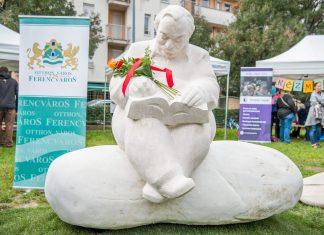 Lázár Ervin szobor