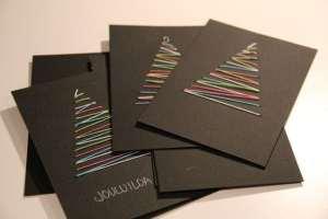 saját készítésű karácsonyi képeslapok