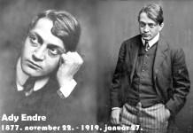 S megint élek, kiáltok másért: Ember az embertelenségben. - 142 éve született Ady Endre