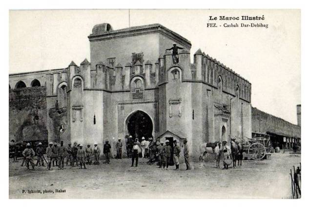 Morocco.Fes.kasbah.Dar.Debibag.Ville.Nouvelle.01