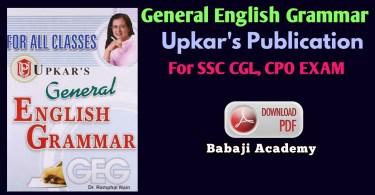 Upkar Publication English Grammar Pdf Download