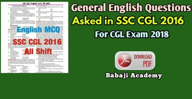 SSC CGL English Best Book for 2021 Exam