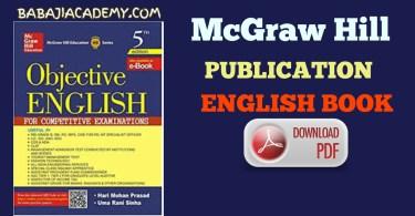McGraw Hill Publication Objective English Book PDF 2021