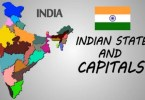 States and Capitals of India in English: 2019 updated List