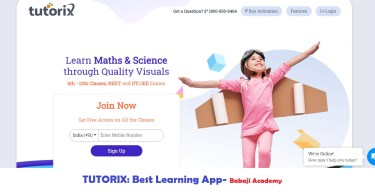 Tutorix: The Best Learning App for Math & Science for Class 6 to 12