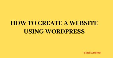 How to create a website using Wordpress: Tutorial for beginners