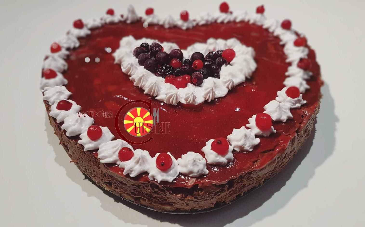 Срце торта од кујната на битолските домаќинки