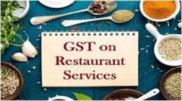 GST on Restaurant Services