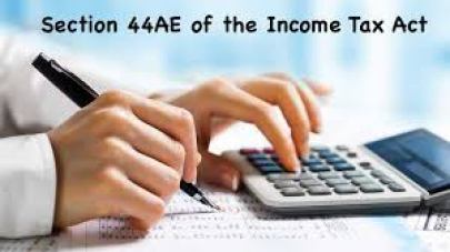 section 44ae of income tax act