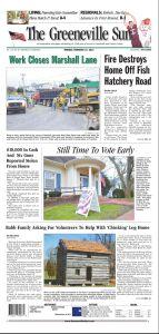 Greeneville Sun 2012-02-27 Page 1