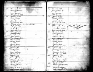Stephen Babb 1-2-2-1-6 Marriage Record
