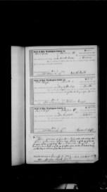 Rees S. Babb & Harriett (Preston)- Marriage Record