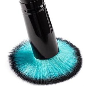 10 Professional Make Up Brushes blue one brush