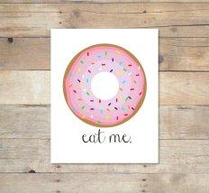 Eat Me Print