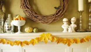 Super Easy Leaf Garland