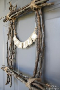 Fall Twig Wreath