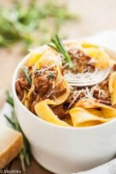 Crock Pot Rustic Italian Beef Ragu
