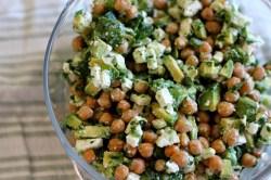 Chickpea, Avocado, and Feta Salad