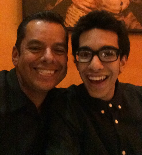 Dad & Brother Selfie