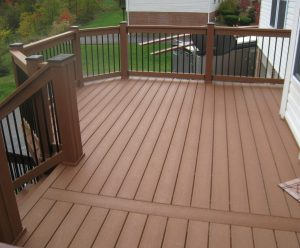 variety of railing options for decks outdoor stair within deck railing ideas